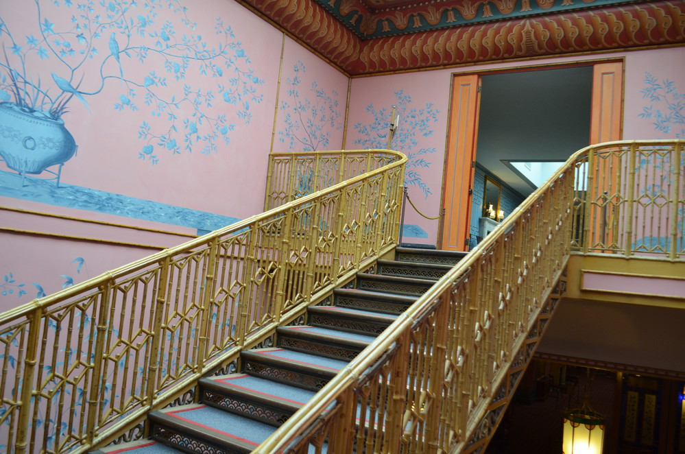 North Stairway of Royal Pavilion